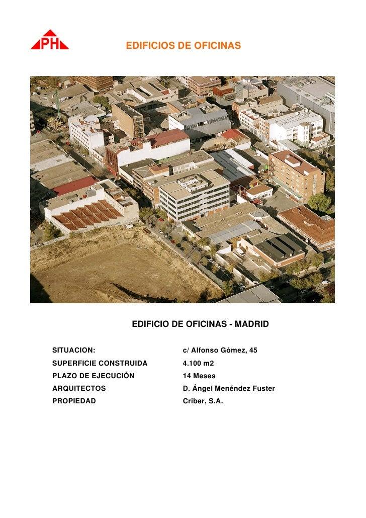 Edificio oficinas de peyber for Oficinas de ing en madrid