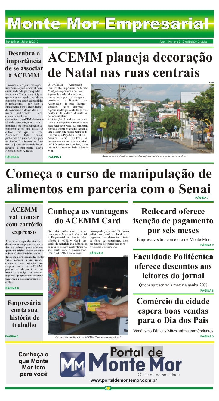 Monte Mor EmpresarialMonte Mor - Julho de 2010                                                                            ...
