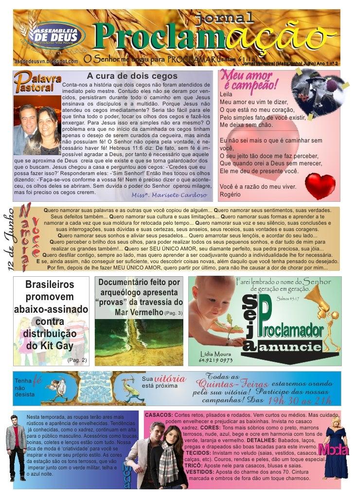 jornal        assdedeusvn.blogspot.com                                             Proclamação                            ...