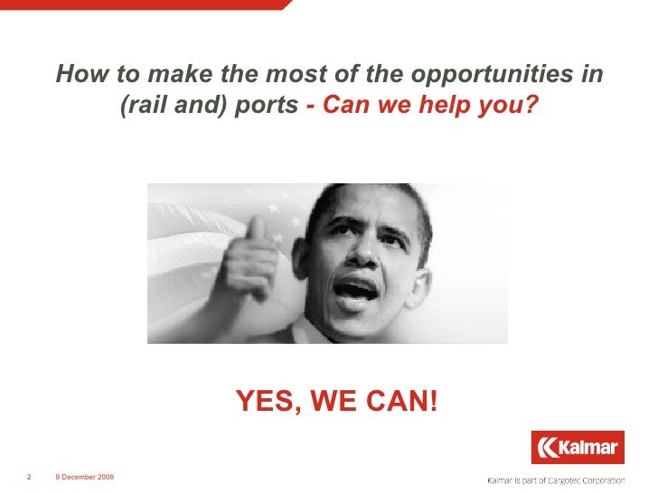 How to make the most of the opportunities in (rail and) ports   - Can we help you? <ul><li>  YES, WE CAN! </li></ul>8 June...