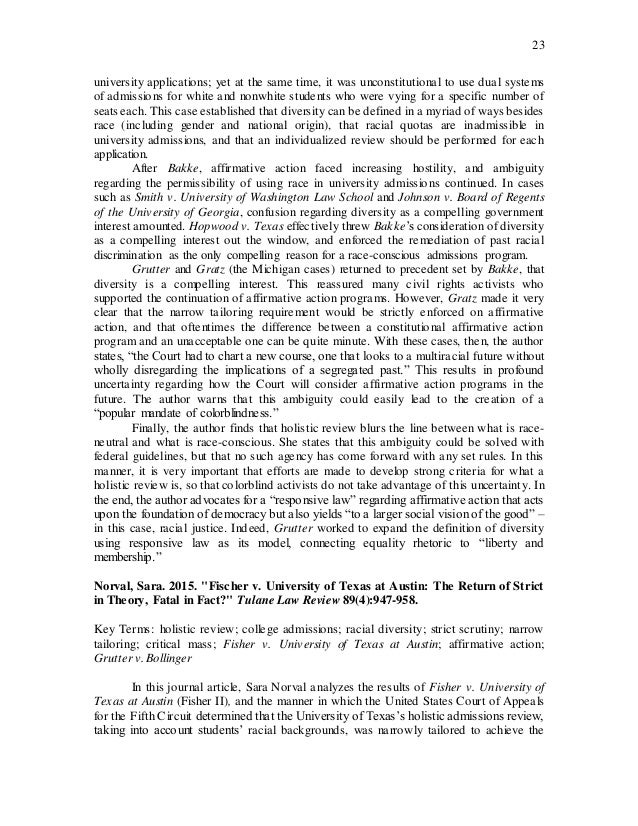 Contribution to diversity essays