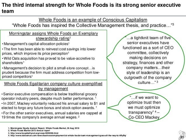 whole foods strategic audit A month after amazon completes its acquisition of whole foods, a limited data breach investigation is underway brian vecci, technical evangelist at varonis commented that there is a missing link between passing a pci-dss audit and actually being secure in his view, retailers need to take steps.
