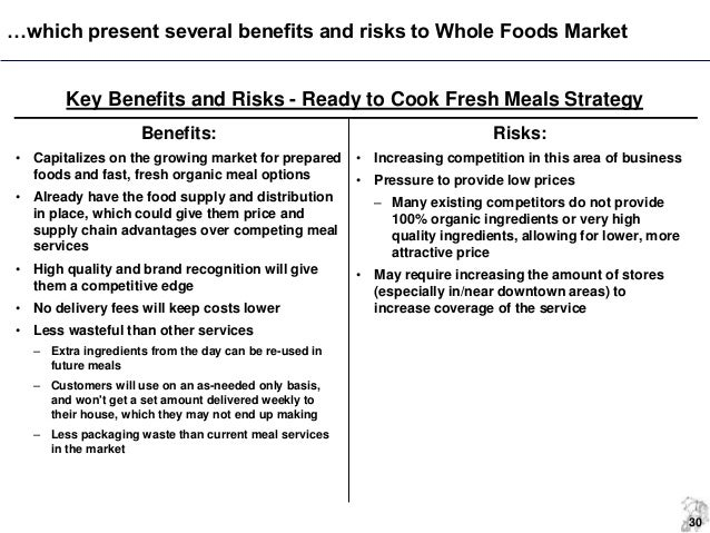 whole foods strategic audit Keywords: medtronic, strategic audit, medical technologies  competitors also  grow by acquiring smaller companies, so as a whole the market shrinks  medtronic must have a  diabetic food monitoring system retrieved.