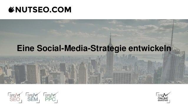 Eine Social-Media-Strategie entwickeln