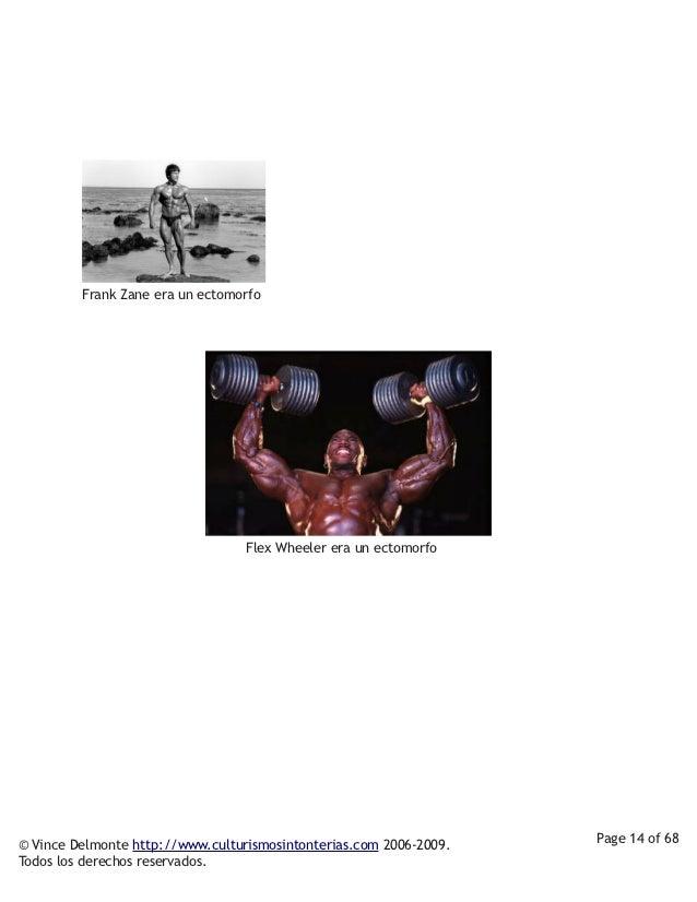 Frank Zane era un ectomorfo                              Flex Wheeler era un ectomorfo         © Vince Delmonte http:...