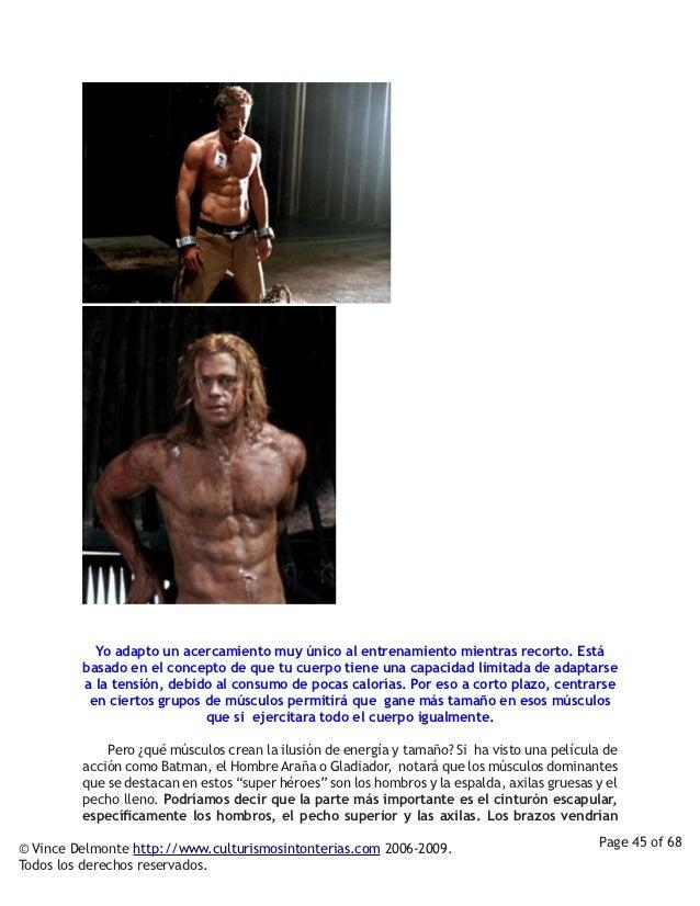 Yo adapto un acercamiento muy único al entrenamiento mientras recorto. Está         basado en el concepto de que tu cuerpo...