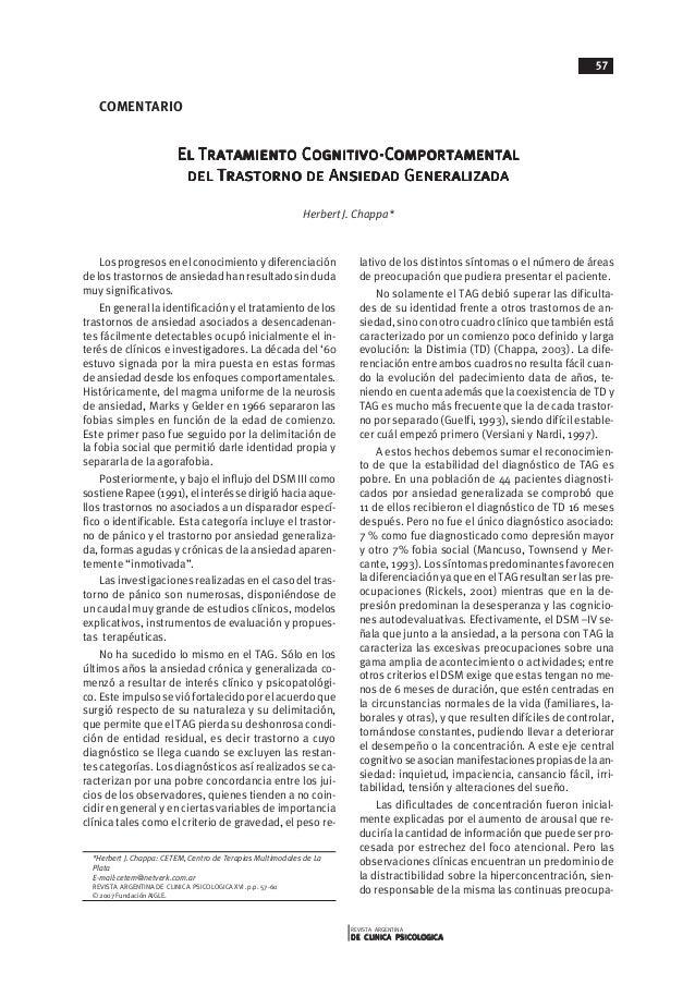 REVISTA ARGENTINA DE CLINICA PSICOLOGICADE CLINICA PSICOLOGICADE CLINICA PSICOLOGICADE CLINICA PSICOLOGICADE CLINICA PSICO...