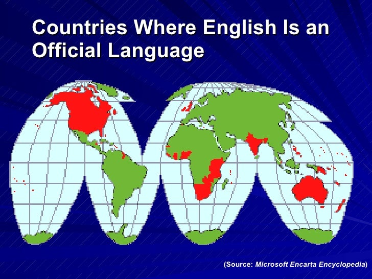 english as a global language  language  countries where english