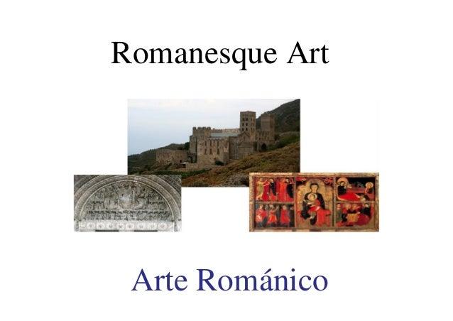 Arte Rom�nico Romanesque Art