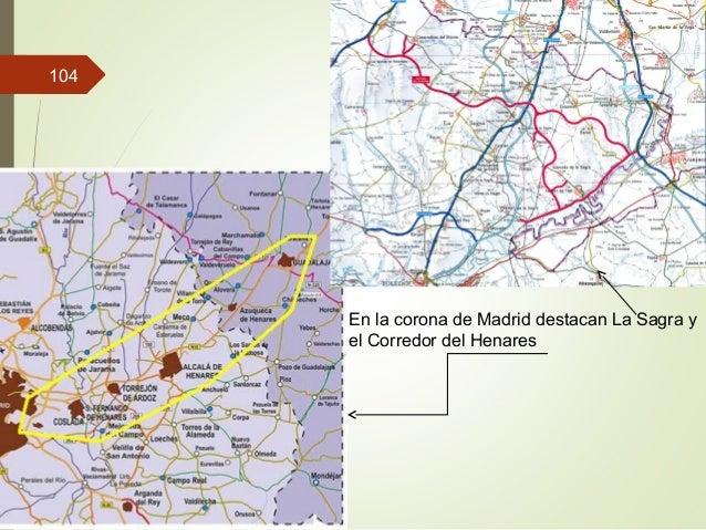 En la corona de Madrid destacan La Sagra y el Corredor del Henares 104