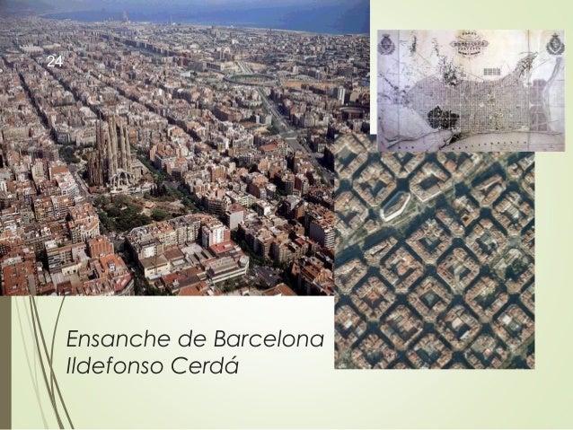 Ensanche de Barcelona Ildefonso Cerdá 24