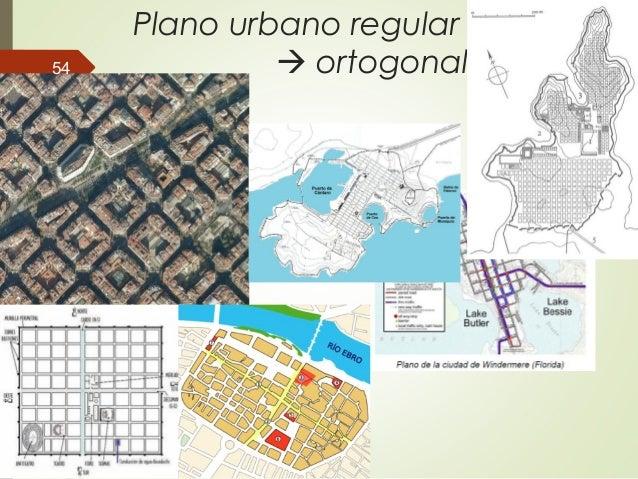 Plano urbano regular  ortogonal54