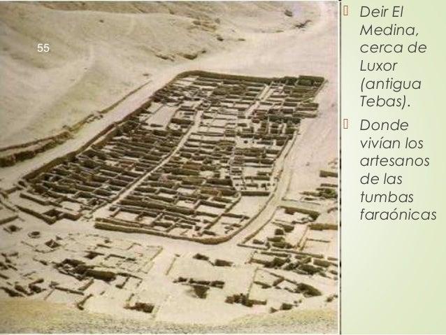  Deir El Medina, cerca de Luxor (antigua Tebas).  Donde vivían los artesanos de las tumbas faraónicas 55