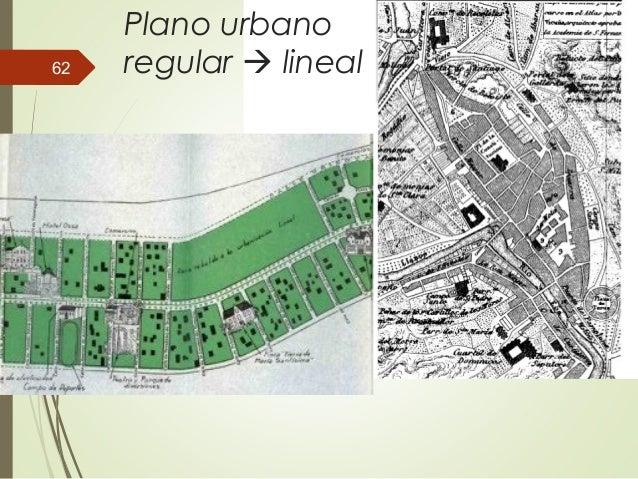 Plano urbano regular  lineal62