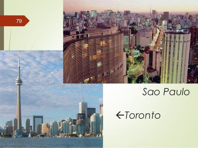 Sao Paulo Toronto 79