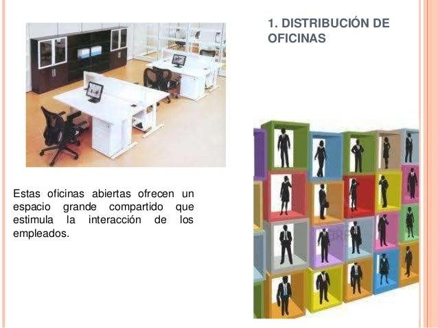 Estrategias de distribucion de instalaciones for Distribucion de oficinas
