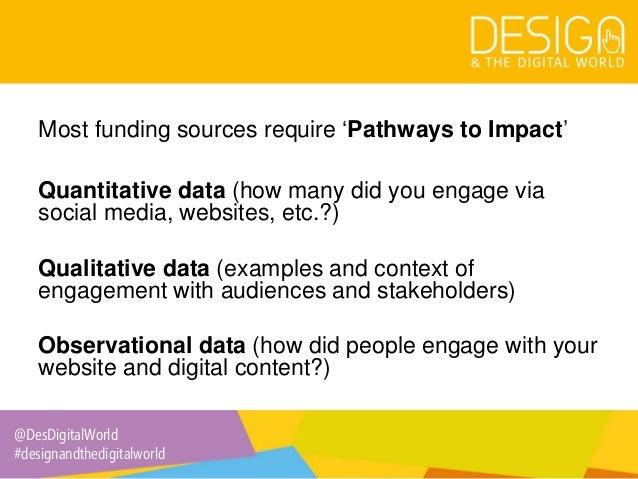 2. Evaluating the impact of dissemination via social media Slide 3