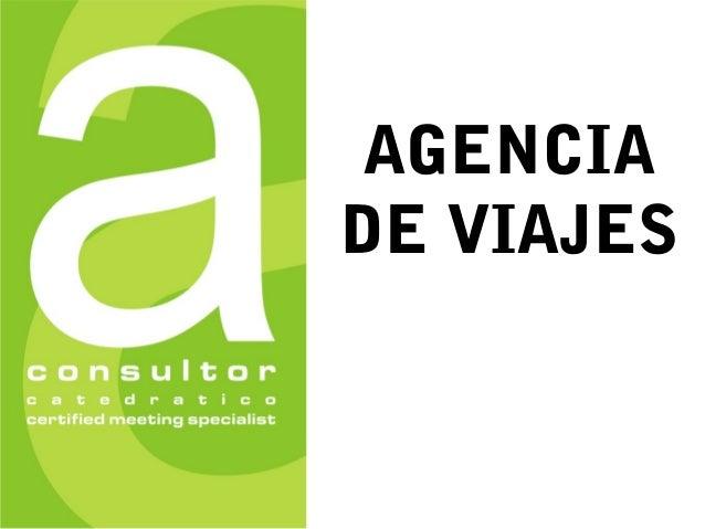 AGENCIA DE VIAJES