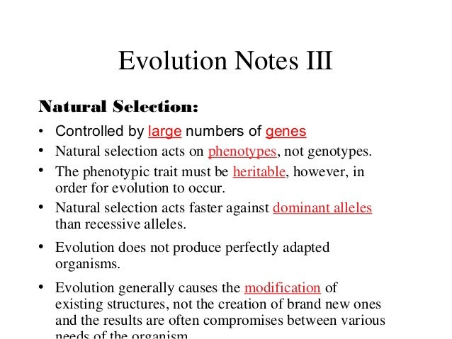 What Causes Natural Selection To Happen Faster