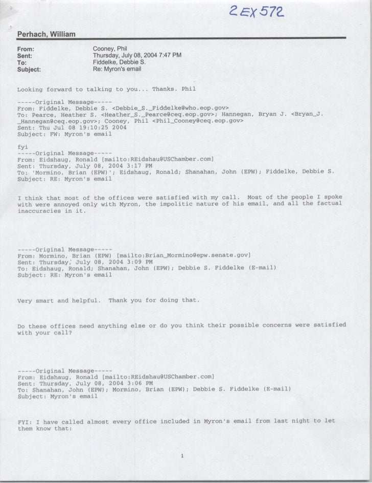 Perhach, William From:                Cooney, Phil Sent:                Thursday, July 08, 2004 7:47 PM To:               ...