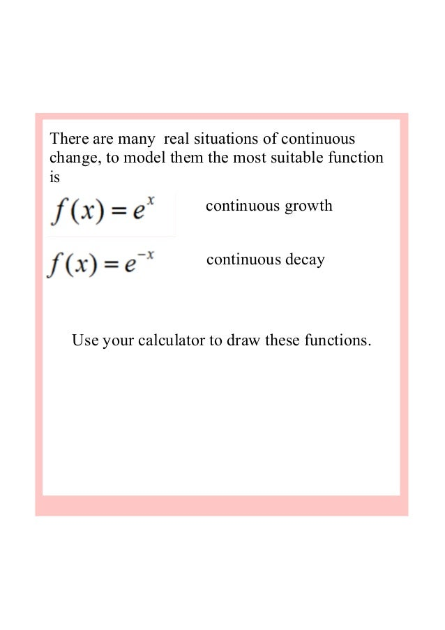 2 exponential growth and decay – Exponential Decay Worksheet