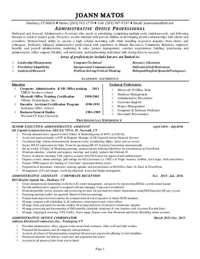 Resume Services Danbury Ct