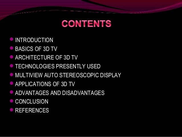 special effects in film and television powerpoint
