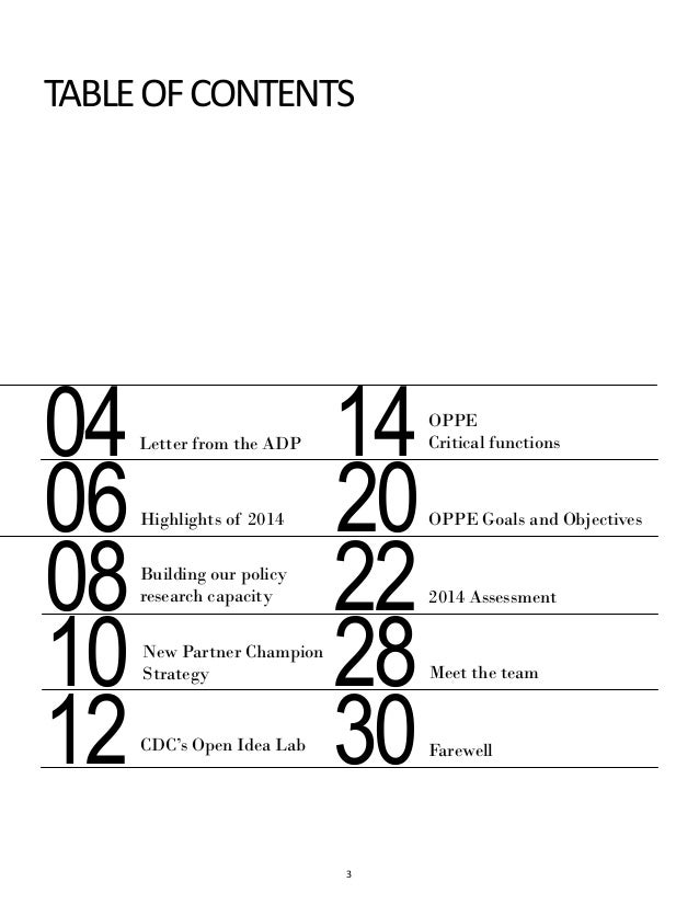 oppe annual report 2014
