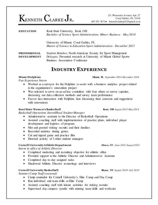 kenneth clarke jr  final resume