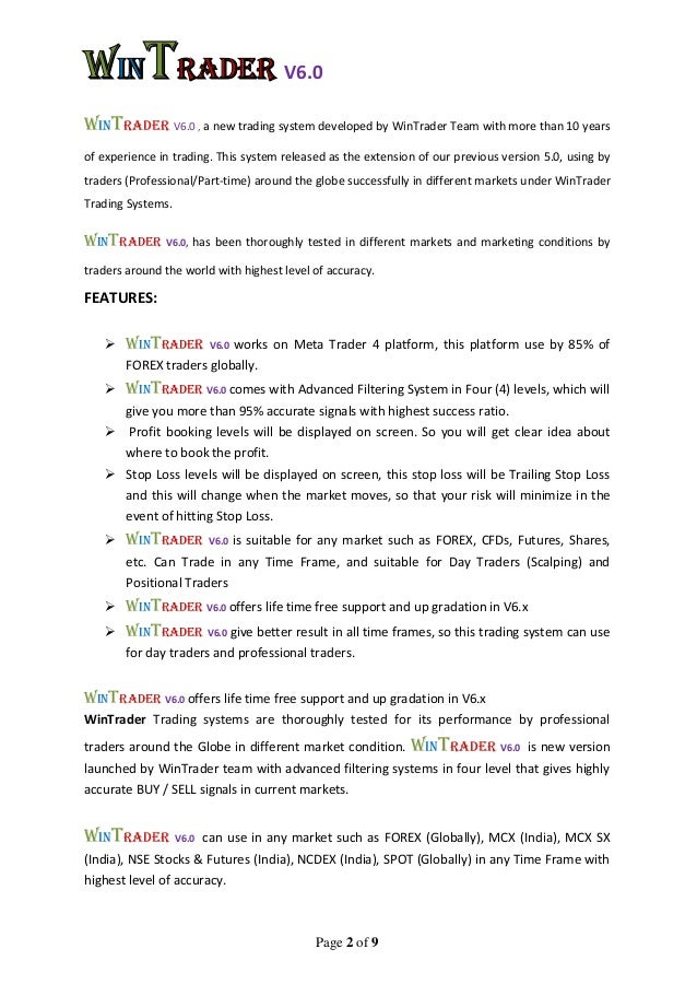 Trading systems that work pdf stridsman