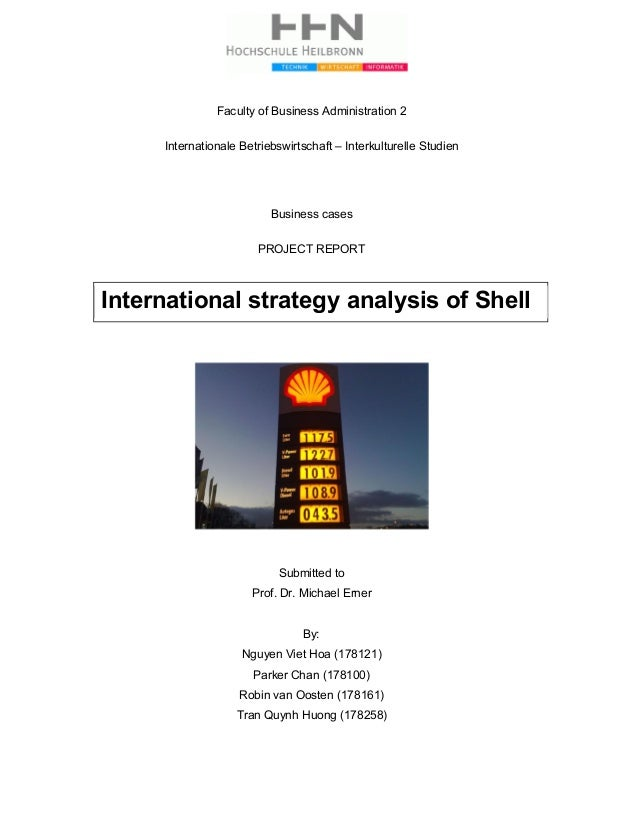 Faculty of Business Administration 2 Internationale Betriebswirtschaft – Interkulturelle Studien Business cases PROJECT RE...