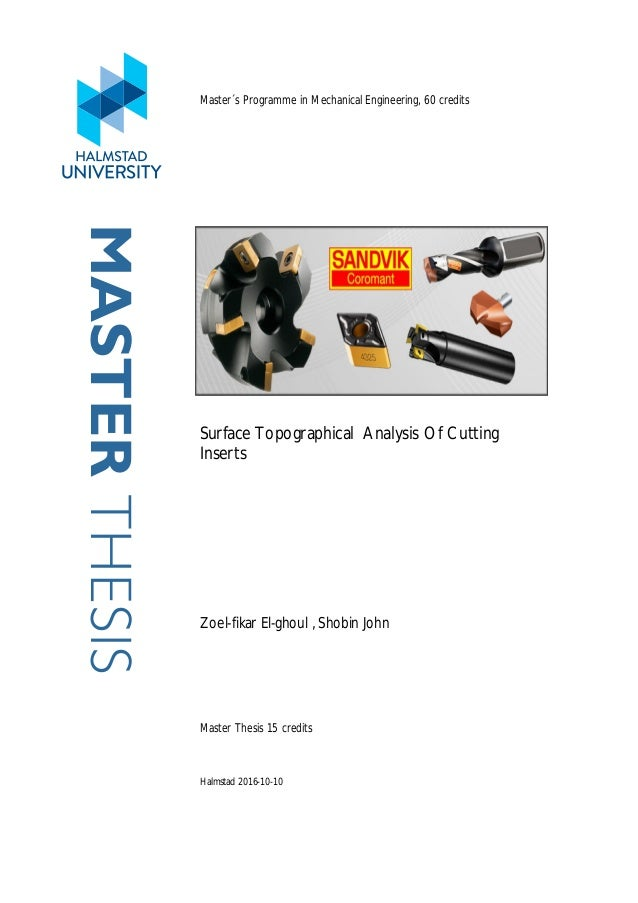 Master thesis communication engineering