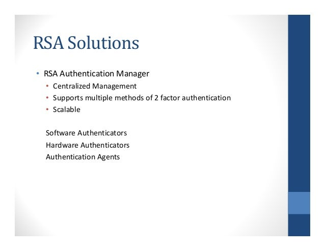 2 factor authentication 3 [compatibility mode] Slide 3