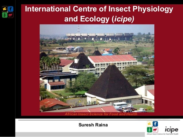 International Centre of Insect Physiology and Ecology (icipe) Suresh Raina African Insect Science for Food and Health