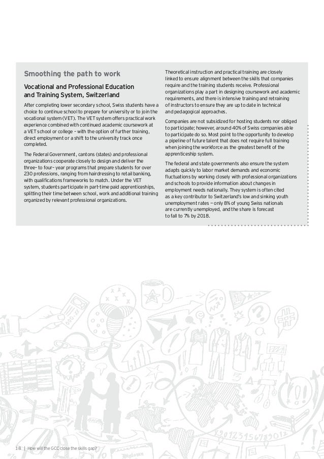 gcc education report This report was written by digital mckinsey, a global organisation  to and  quality of healthcare and education, and reduce co2 emissions  gcc are  exploring ways to make its oilfields smarter by digitising operations with.