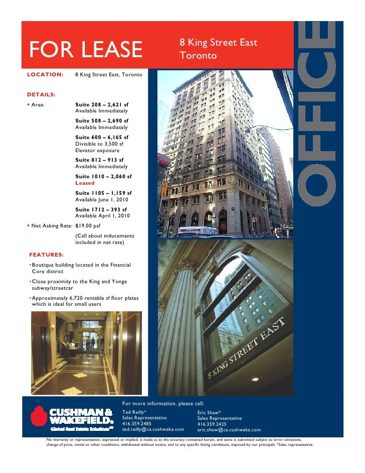 2 Fc Small May Toronto Commercial Real Estate