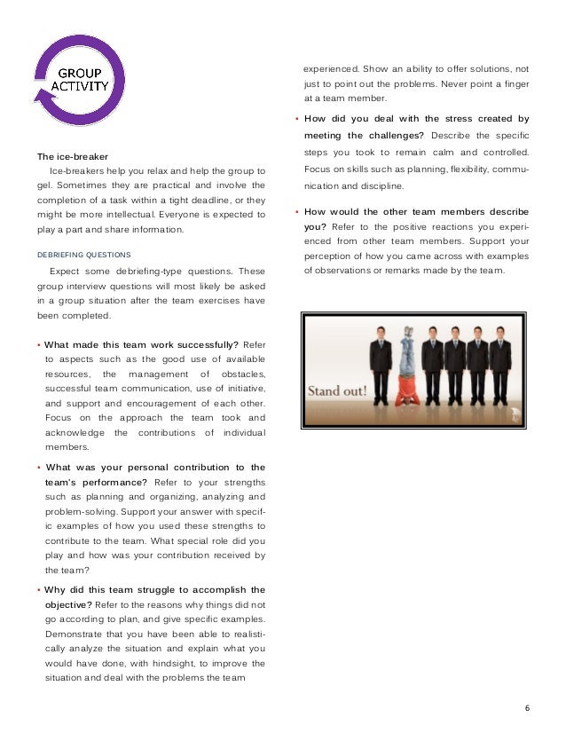 case study for group interview