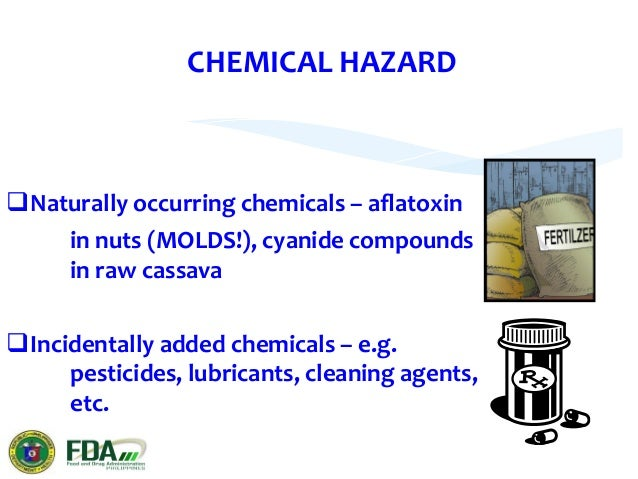 PHYSICAL  HAZARDS    Include  any  potentially  harmful  extraneous   material  not  normally  found...