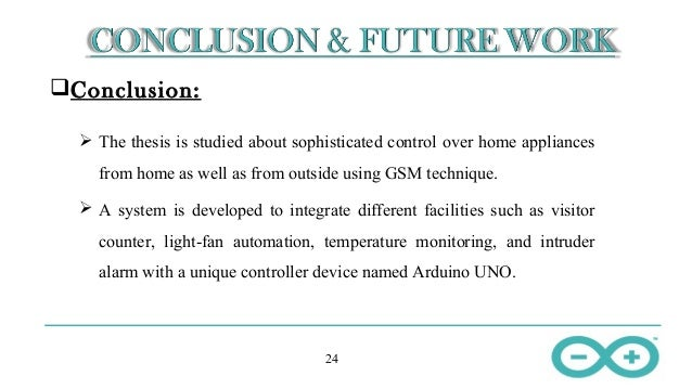 thesis conclusion and future work This paper considers the generic structure of conclusion chapters in phd in a phd thesis the conclusion usually has the conclusions and future work.