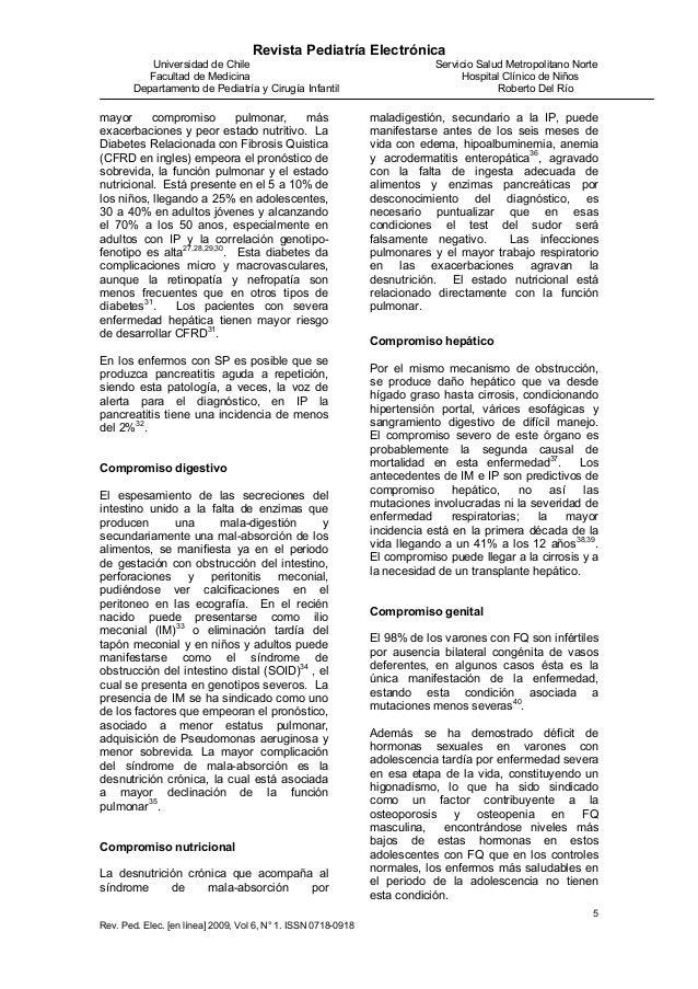 Revista Pediatría Electrónica Universidad de Chile Servicio Salud Metropolitano Norte Facultad de Medicina Hospital Clínic...
