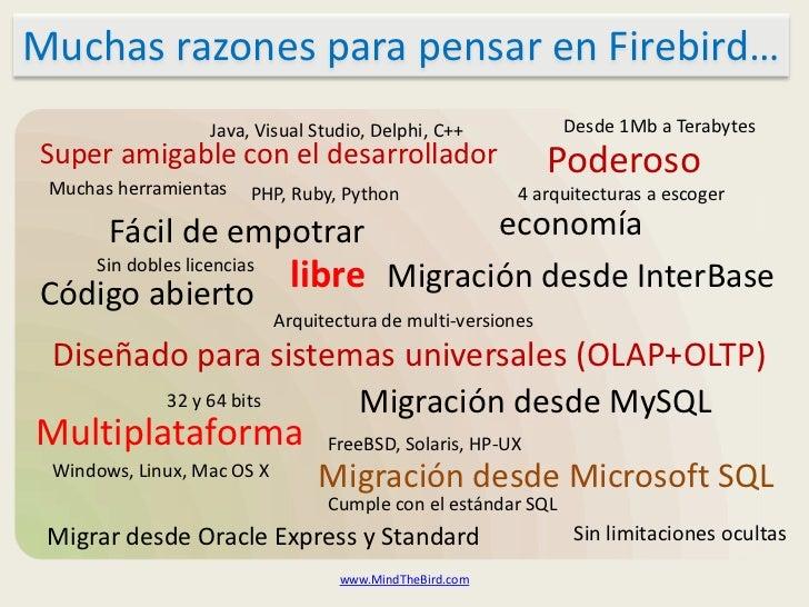 Aspectos técnicos de Firebird Slide 2