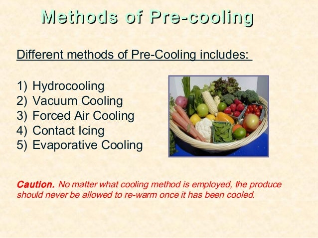 Food preservation pre cooling offruits vegetables 22 forumfinder Images