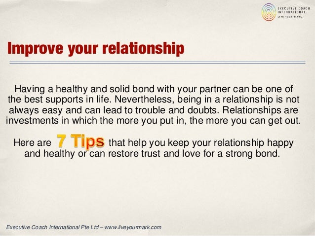 how to help your relationship