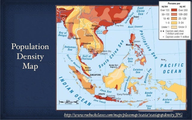 geography and climate of southeast asia