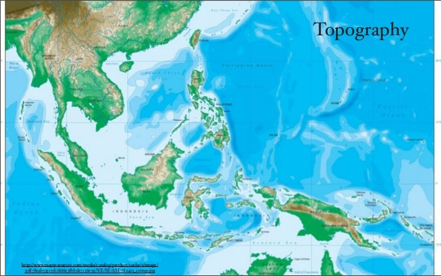 Geographical Map Of Southeast Asia.Geography And Climate Of Southeast Asia