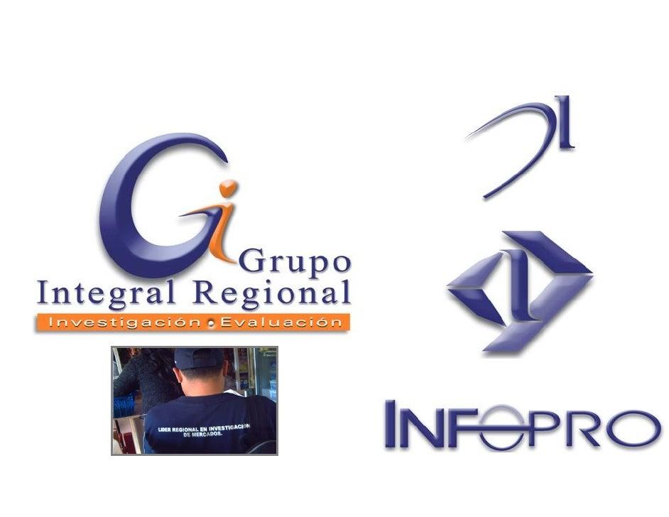 Líder Regional de   Investigación y Evaluación          de Mercados.                                                      ...