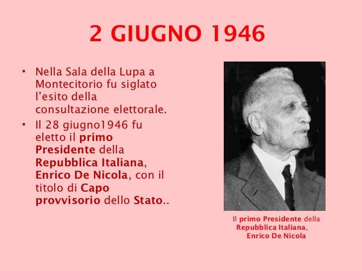 2 giugno 1946 2 giugno 2011 for Senatori della repubblica italiana nomi