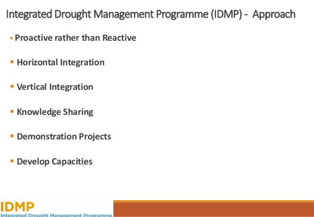 The Cycle of Disaster Management Source: National Drought Mitigation Center, University of Nebraska-Lincoln