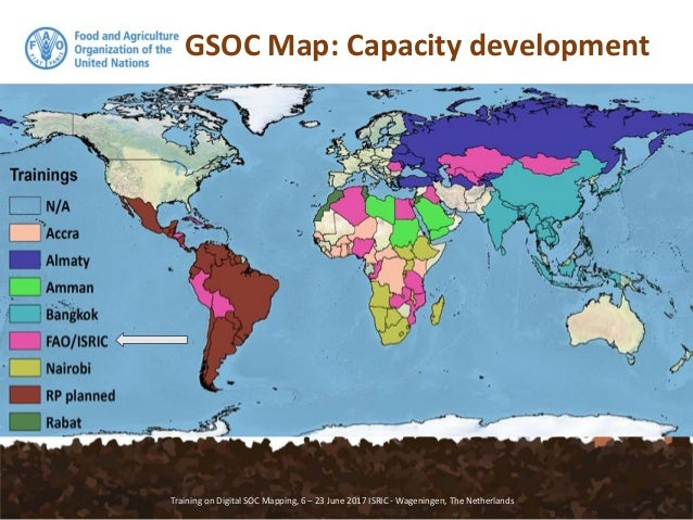 GSP GSOC map Soil Organic Carbon Mapping