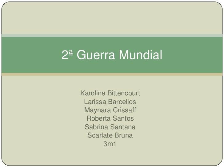 Karoline Bittencourt<br />Larissa Barcellos<br />Maynara Crissaff<br />Roberta Santos<br />Sabrina Santana<br />Scarlate B...